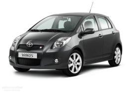Noleggio Toyota Yaris 1,4 diesel - Ditta Spaca. Autonoleggio in provincia di Ragusa, Modica, Scicli per ,vacanze e affari. Chiama per il servizio di noleggio auto Spaca.